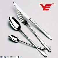 89pcs stainless steel silver plated cutlery for Turkey market