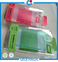 Better Scratch Resistance Hard Plastic Transparent Box Packing for Mobile Case Wholesale