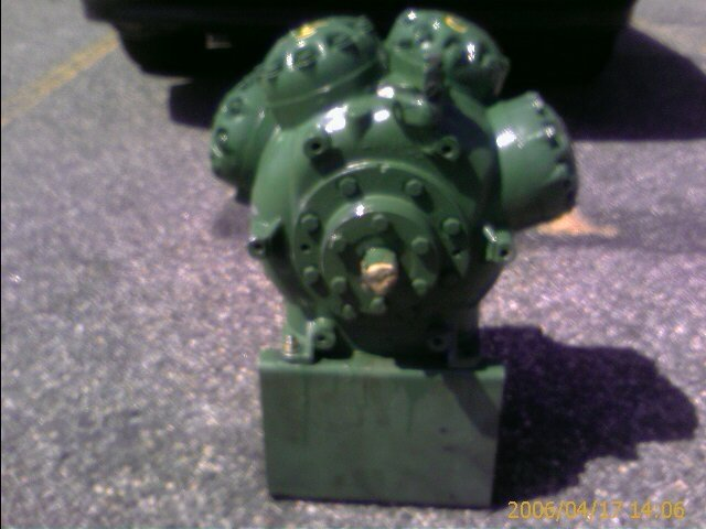 TRANE, CROG, Thermo King GB Air Conditioning Compressors, Model TK302-138 or COM-1692