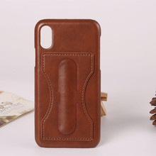 Unique Special Stand Leather Luxury Phone Case For Iphone 8 Leather Skin Cover