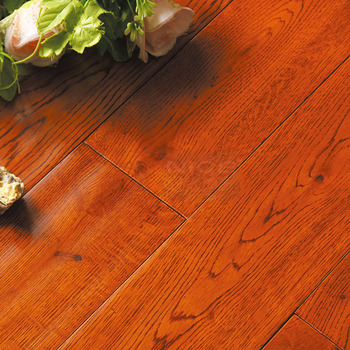 Eco-friendly Quality Oak Solid Wood Flooring For Indoor Usage