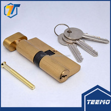 Euro Standard High Quality Brass Door Mortise Lock Cylinder With Lock Thumbturn Profession Manufacturer