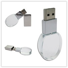 Manufacturers manufacturing crystal usb flash drive custom logo