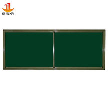 OEM school classroom sliding blackboard writing green chalk board