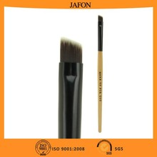 Wooden handle makeup professional cheap eyebrow brush