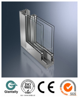 sliding window Vertical mullion Aluminum Profile