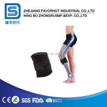 Acupressure pressure point sciatic nerve calf brace