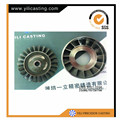inconel 713c turbine wheel-66mm for kj66 turbo jet engine