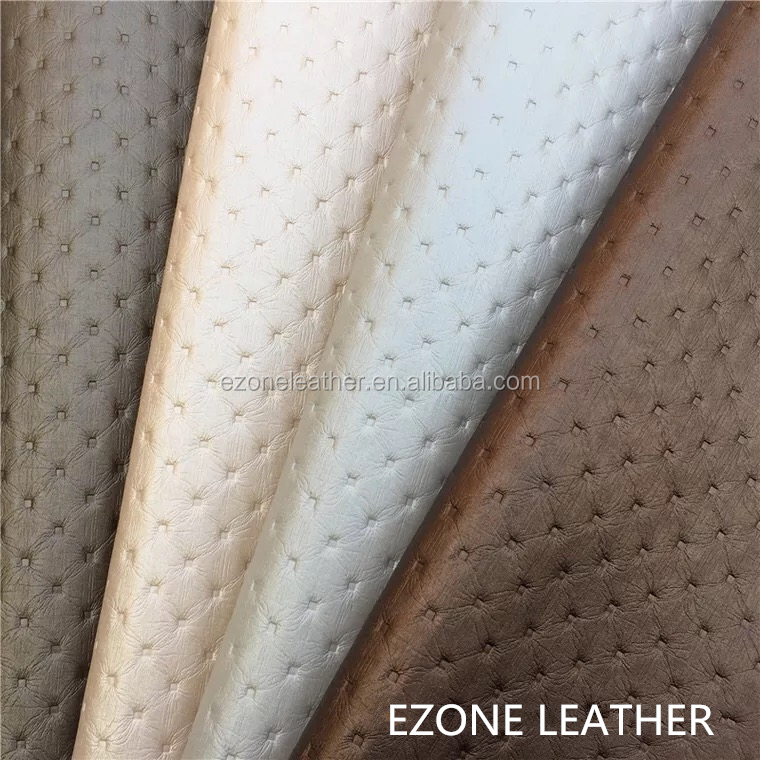 Fashionable Decorative PVC Pu Leather Textiles
