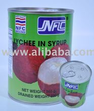 Canned Juice Lychee in Syrup Thailand 100%