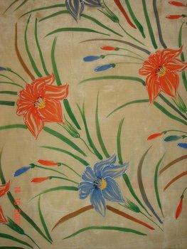 Dining Table Cloth Painting
