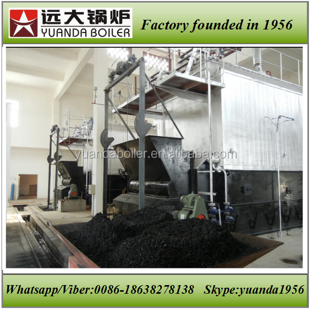 Flake grate and chain grate type coal fired 4000kg 4 ton steam boiler price