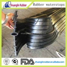 Rubber water stop bar