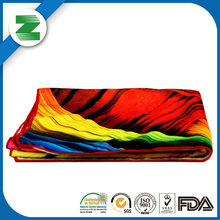 Cute bright colored beach towels for export india