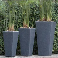 2017 European Style Tall Tapered Square planter for Sale