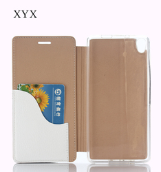 leather case for allview p6 pro with ultra thin double layer folding style, for allview p6 life case