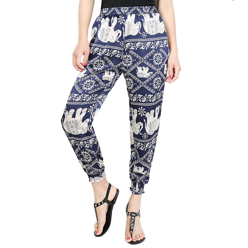 hot sale elephant Hippie Yoga Harem Pants