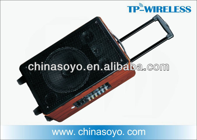 2.4GHz digital wireless outdoor portable speaker PA system