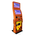 Fashion-design Factory Price Dual Screen Floor Standing Interactive Touch Screen Kiosk