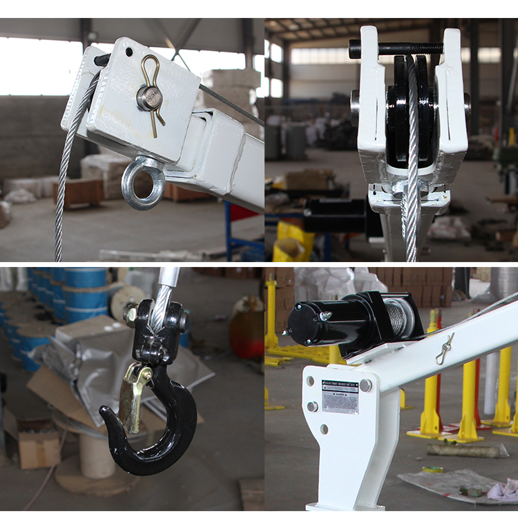 Stainless Steel Electric pickup truck crane