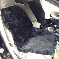 China Unique Austria Sheep Wool Patchwork Short Hair Cover For Car