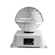 Crystal <strong>led</strong> magic ball rgb dj bar light decorate disco bar stage lighting effect display with sound active