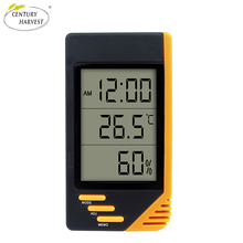 Portable digital room lcd thermometer hygrometer(S-WS07A)