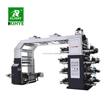 High Speed 8 Color Flexographic Printing Press Machine