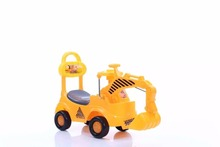 baby excavator pedal ride on kids digger engineer truck quadriciclo bebe juguetes toys cars