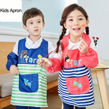 kids child drawing smock painting waterproof adjustable apron