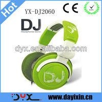 Fsahion design popular hi-fi stereo DJ headphone with 3.5mm jack from China