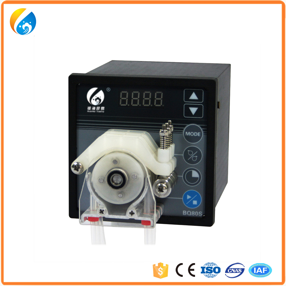 Standard 12v HBQ80S mini peristaltic pump with Variable-Speed