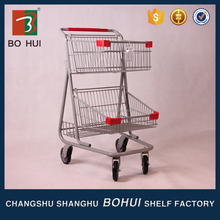 Usefully elderly shopping cart/ disabled shopping cart