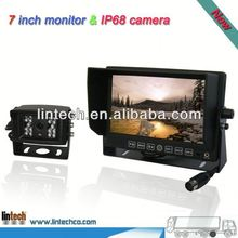 Reversing camera kit wide view 7 inch motorcycle rear view camera for trailer