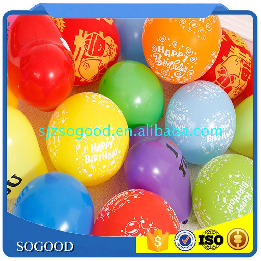 Hot selling product event&party decoration photo printed balloons for kid