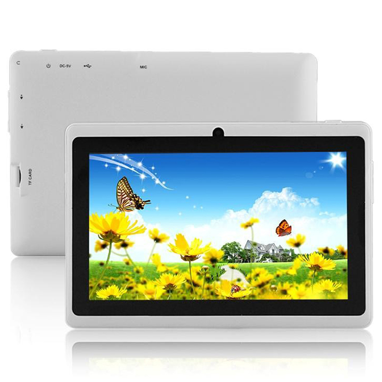 "Günstigste 7 Zoll Q88 Quad Core Android Tablet beste Wifi 7 ""Quad Core Tablet Android beste billige 7 Zoll Tablet"