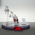 China transparent lucite jewelry display hanger for store