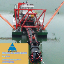 JMD450 2200m3 River Sand Dredging Dredger Boat with depth 12m