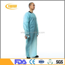 Disposable cpe plastic gown ,surgical drapes gowns,Disposable CPE gown with thumb up