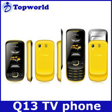 OEM Cheap Q13 Slider Feature Phone Bluetooth TV Dual Cards GSM900/850/DCS1800/1900 Mobile Phone