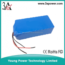 lifepo4 24v 60ah battery packs for ev scooter with bms and charger