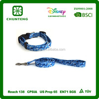 Factory strong nylon large dye sublimation OEM smart pet leash