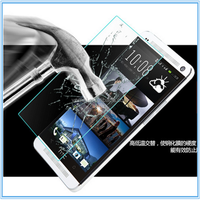 Mobile Phone Use In stock ! 9h 0.33mm Anti fingerprint tempered glass screen protector for HTC ONE max & ONE E8 & ONE E9