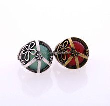 Fashion Jewelry OEM/ODM Vogue Classical Ruby and Emerald Gem Rings