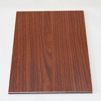 PE coating aluminum cladding sheets, 3-4-5mm acp/acm, copper brushed aluminum composite panel