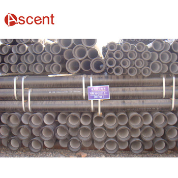 ISO2531 Water Pressure Test Ductile Iron Pipe