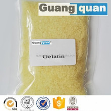 Light Yellow Granules gelatine bloom 300