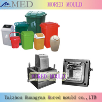 hot sale high quality competitive price mini step injection trash can mold