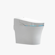 high quality bathroom ceramic smart toilets,one piece siphonic toilet