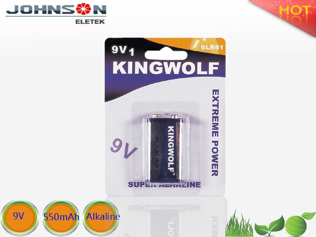 China manufacturer Trade assurance supplier Alkaline 9V dc 9v battery